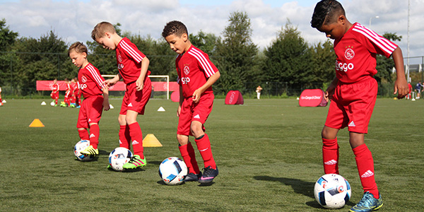 Ajax Clinic bij vv Foreholte