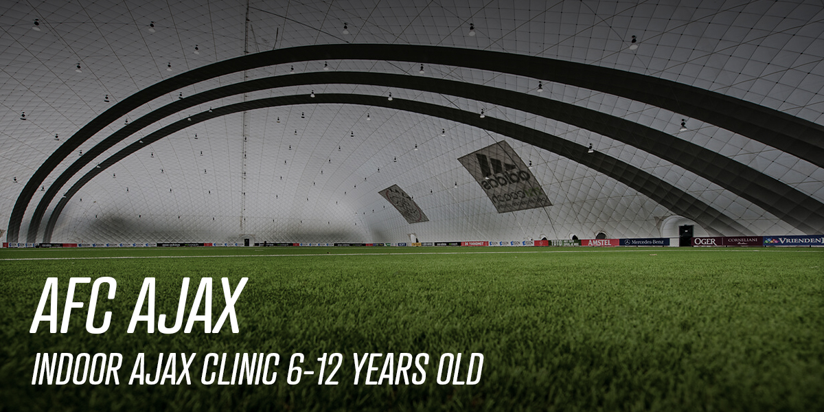 Indoor Ajax Clinic 6-12 years old