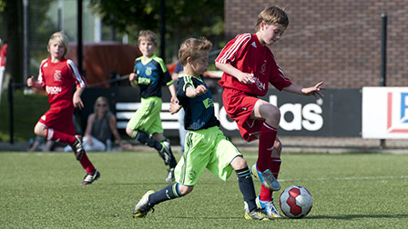 Jong talent in het Ajax Camps & Clinics selectieteam!
