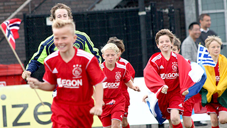 First edition Ajax International Camp Week