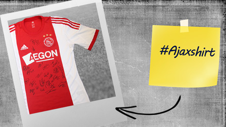 Win a signed Ajax shirt